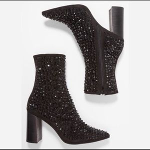 Jeffrey Campbell Shoes - Jeffrey Campbell Sequin Booties